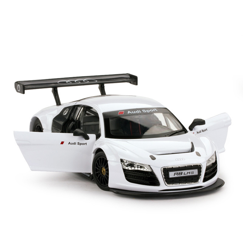 Rastar 1:24 Audi R8 LMS Alloy Model Car with Controllable Steering Wheel